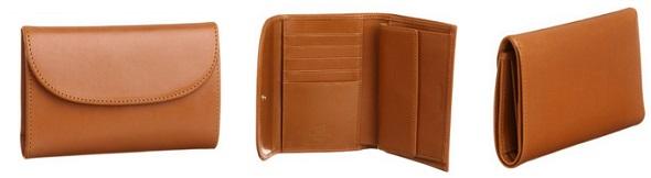 ホワイトハウスコックスの3つ折り長財布