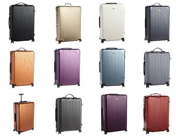 リモワのスーツケース一覧