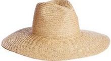 ジェイダGYDAのつば広帽子 ラフィアハット