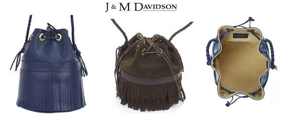 J&M DAVIDSON 巾着バッグ CARNIVAL