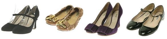 ミュウミュウの靴