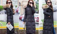 大人女性に人気のファー付きダウンコート