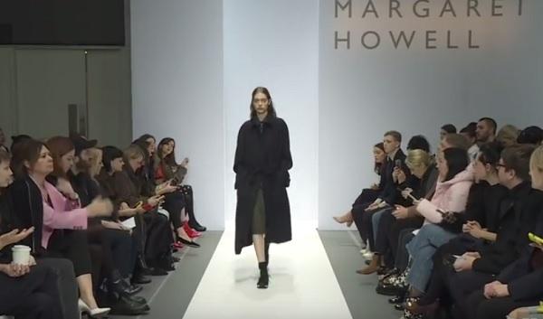マーガレットハウエルの2018秋冬ファッションショー