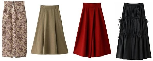 エリンの新作スカート