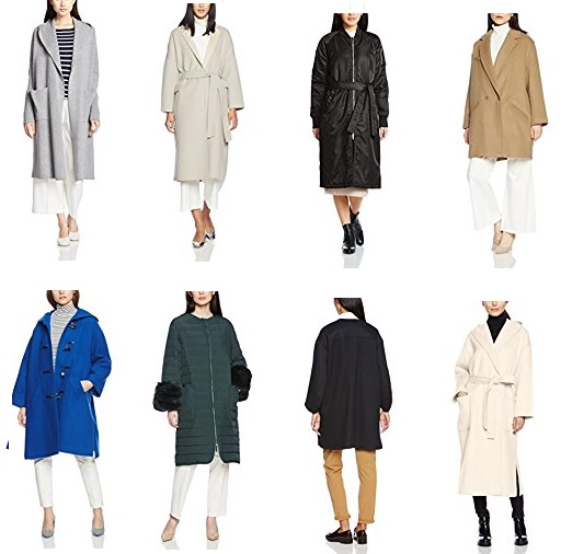 ミラオーウェンのコート セール 在庫